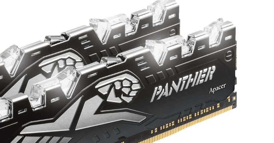 PANTHER RAGE DDR4 台式LED发光电竞內存
